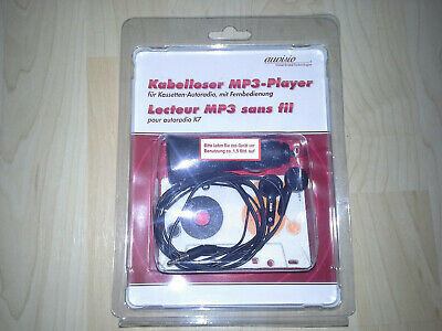 MP3 Player f. Kassetten Autoradio in Kassettenform mit 4GB Micro SD card