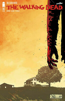 The Walking Dead #193 - 1st Print - Bagged & Boarded