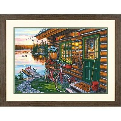 DPW91660 - Paintsworks Paint by Numbers - Cabin View