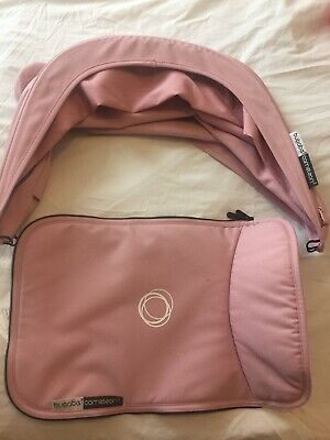 Bugaboo Cameleon 3 Extendable Hood and Apron In Soft Pink