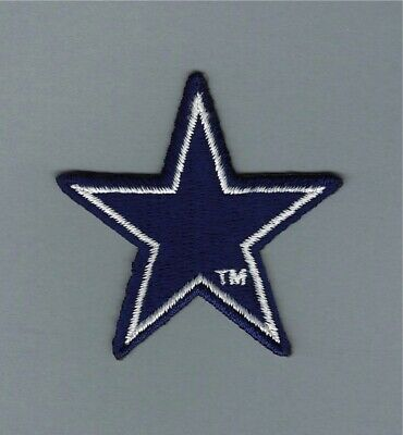 NFL Dallas Cowboys STAR Patch.MINT with trade mark.Fast same day Shipping.
