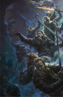 Game Of Thrones Battle Of Winterfell Poster! LAST ONE!!!