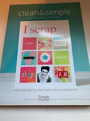 Clean And Simple Scrapbooking Brand New