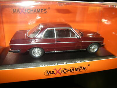 1:43 Maxichamps Mercedes-Benz 230CE Coupe W123 1976 red/rot Nr. 940032221 in OVP