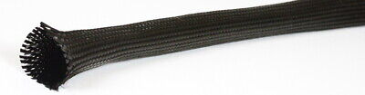 500mm - 2 METRES 50mm BRAIDED CARBON FIBRE SLEEVING , SLEEVE , TUBING , TUBE