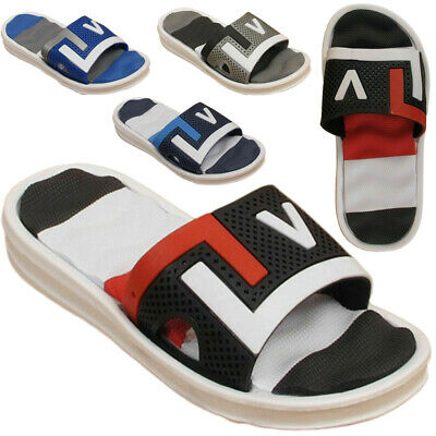 Kids Flip Flop Boys Girls Infant Contrast Colors Sandals Sports Comfort Sliders