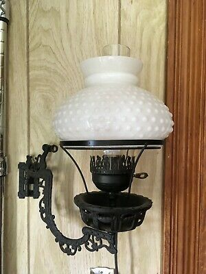 Vintage Cast Iron Decorative Victorian Wall Sconce Working Electric Lamp