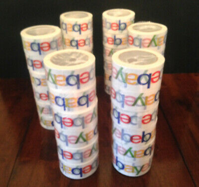 30 Rolls Ebay Packaging Tape - Nice Thick Strong Sticky Tape - Brand New