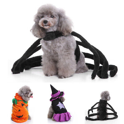 Funny Pet Dog Cat Clothes Costume Cosplay Coat For Halloween Party Dress Up