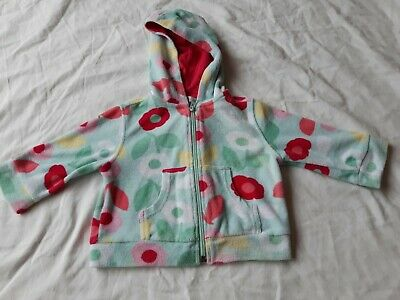 Monsoon Baby 18-24 Months Towelling Zip Jacket With Hood