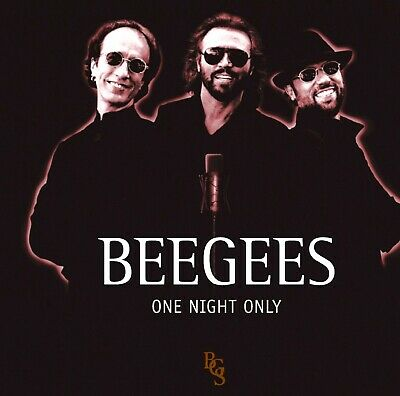 BEE GEES * 24 Greatest Hits LIVE Concert PBS * NEW CD * One Night Only