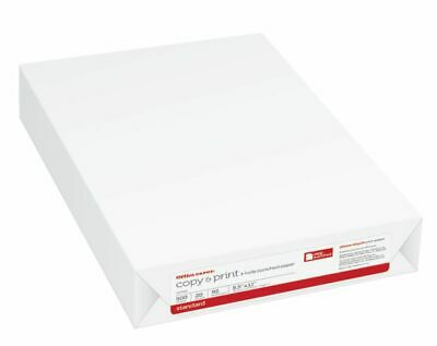 Office Depot® Brand Copy & Print Paper, 3-Hole Punched, Letter Size Paper, 20 Lb