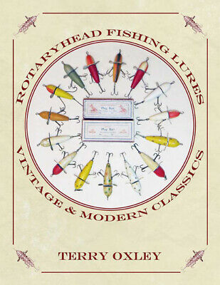 New Copy ROTARYHEAD FISHING LURES: VINTAGE AND MODERN CLASSICS Musky Lures