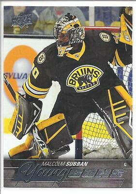 MALCOLM SUBBAN 2015-16 Upper Deck YOUNG GUNS Rookie Card RC #211