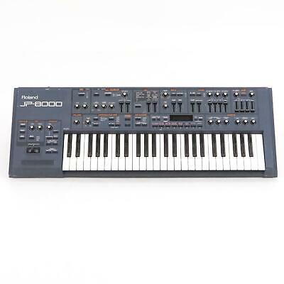 Roland JP-8000 Keyboard Analog Modeling Synthesizer Synth Needs Repair #36078