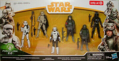 Star Wars Solo Movie Mimban Stormtrooper Mud 6 pack Only at Target Exclusive HTF