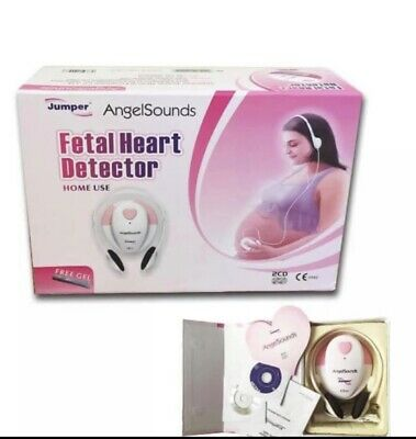 AngelSounds Portable Baby Heart Beat Detector Monitor Ultrasound Fetal Doppler.