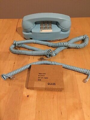 Western Electric Touch-Tone Princess Phone 2702/Cords /Free Bulb Tested