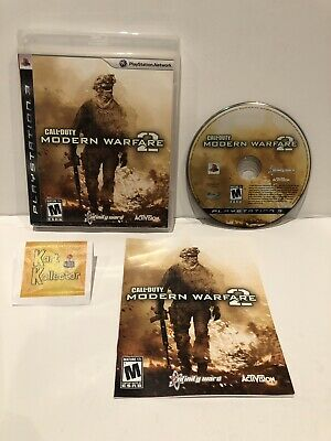 Call of Duty: Modern Warfare 2 (PlayStation 3) CLEAN TESTED COMPLETE