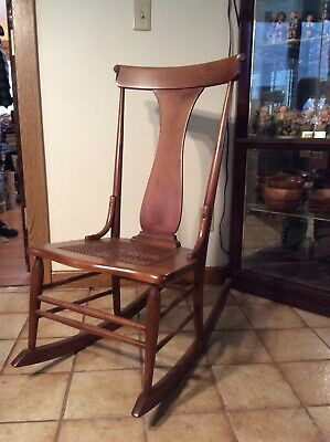 Vintage rocking chair, Armless, used Before 1960s