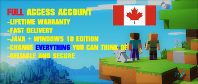 Premium Minecraft Account | Full Access |+ GIFT 😍😍