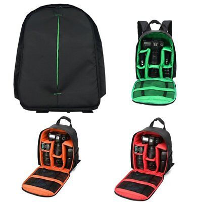 Multifunction Large Camera Backpack Bag For Canon Nikon Sony DSLR LOT 94