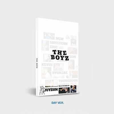 THE BOYZ DREAMLIKE 4th Mini Album DAY Ver CD+Photo Book+Zine+2 Card+Sticker Pack