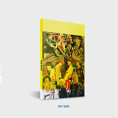 THE BOYZ DREAMLIKE 4th Mini Album DIY Ver CD+Photo Book+Zine+2 Card+Sticker Pack