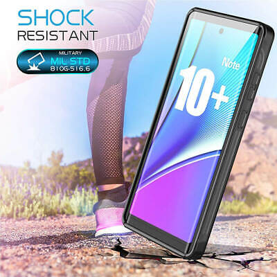New 360° Full Protective Waterproof Case Cover For Samsung Galaxy Note 10 + Plus