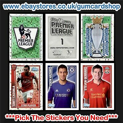 Topps Premier League 2013 (1 to 99) *Please Select Stickers*