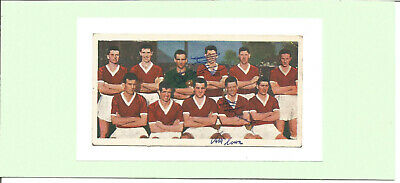 Football Autograph Rolando Ugolini 1950s Middlesbrough Signed Photograph F1553