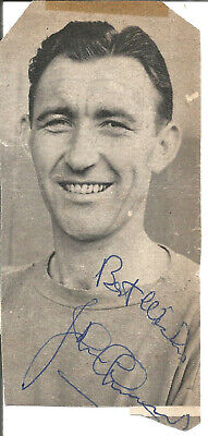 Football Autograph John Christie 1950s 1960s Signed Magazine Photograph F1577