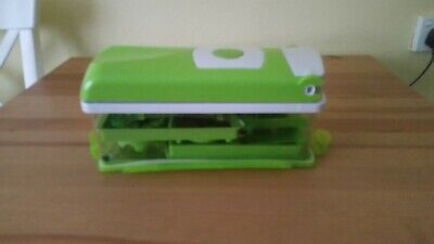 Food Chopper Vegetable and Fruit Dicer with storage container and lid