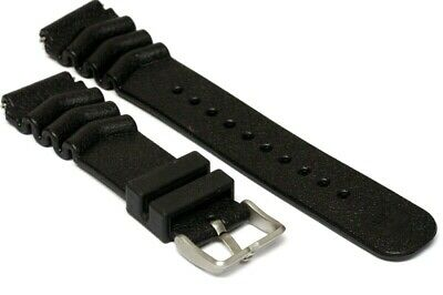 Used but almost new rubber Z22 Diver strap with clip signed Seiko F        -5020