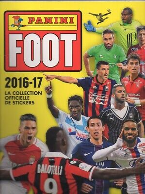 Panini Foot 2016-2017 : Lot De 76 Images Stickers Vignettes