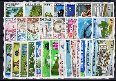 Nouvelle Caledonie: Serie Complete De 29 Timbres P.a. Neuf* N°147/175 C:161,30€