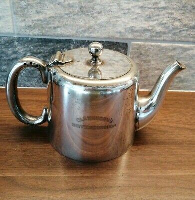 MAPPIN & WEBB silver plated teapot 1 pint