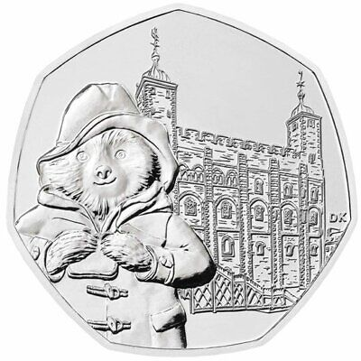 ***NEW 2019 Paddington at the Tower Of London 50p Fifty Pence Brilliant Unc***