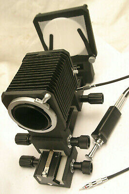 Canon FD Auto Close Up Bellows with Macro Stage