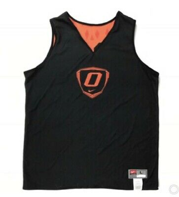 NWT Nike Men's Oklahoma State Cowboys Basketball Reversible Practice Jersey L