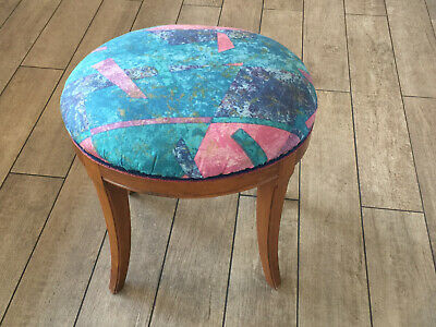 Cal Shops Maple Stool Bench 1950 Vintage