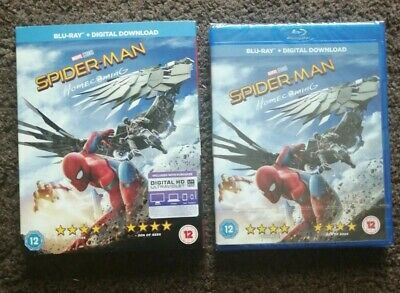 Spider-Man Homecoming (Blu-ray, 2017) with sleeve; brand new in shrink wrapping.