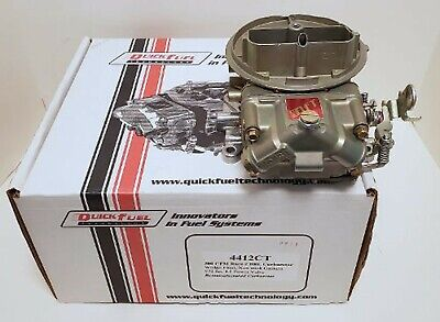 2 BARREL DEMO DERBY Carburetor 4412 500 CFM Quick Fuel Q-500