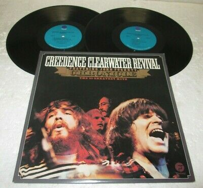 Creedence Clearwater Revival Chronicle Lp Nm Fantasy Vinyl 20 Greatest Hits Best