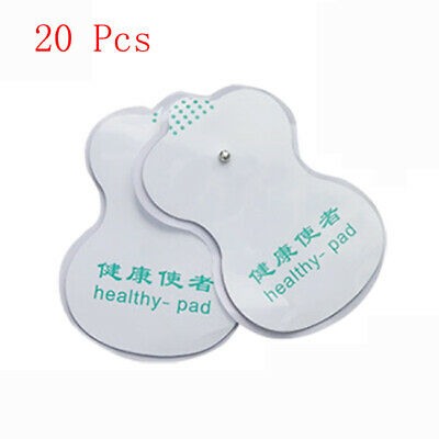20 Pcs Acupuncture Digital Therapy Machine Massager Pairs Electrode Pads New