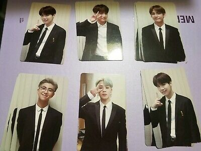 Bts memories of 2018 Photocard