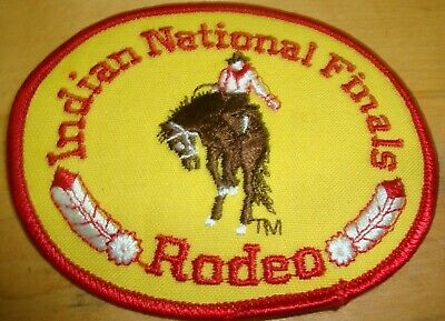 Indian National finals Rodeo Patch