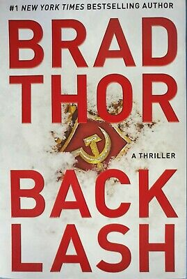 Backlash by Brad Thor First Edition Hardcover