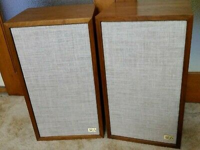Acoustic Research AR-5 Speakers Vintage 1970's Made in USA