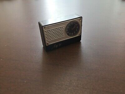 Old Vintage USSR Soviet Mini Alarm Clock Luch Working Collectible Nr. 467